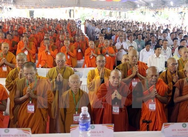 Đại lễ kỷ niệm 35 năm thành lập Giáo hội Phật giáo Việt Nam - ảnh 1