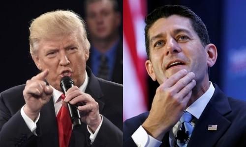 Trump công kích chủ tịch Hạ viện vì không bảo vệ ông - ảnh 1