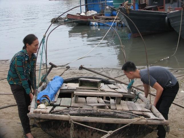Dân Quảng Ninh chằng nhà, gặt lúa chạy đua với bão - ảnh 3