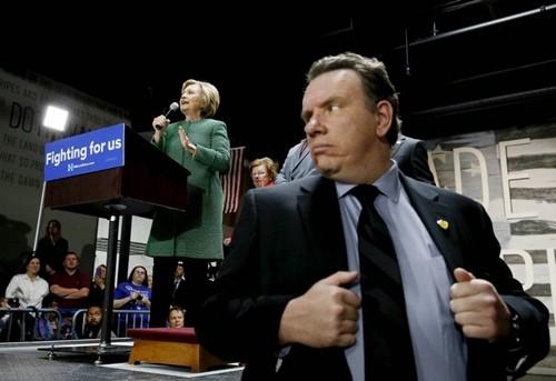 Trump và Clinton được bảo vệ thế nào trong cuộc bầu cử 2016? - ảnh 1