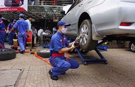 Ngành ôtô Việt đã sản xuất được gương, kính - ảnh 1