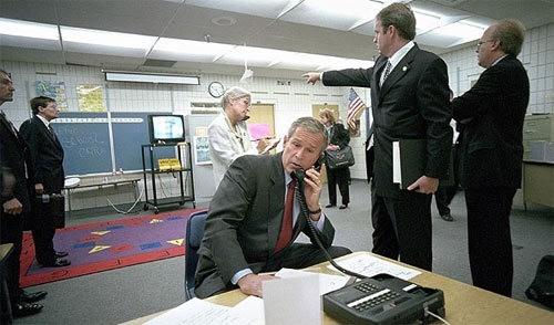 Tổng thống Bush đã làm gì trong ngày 11/9/2001 - ảnh 4