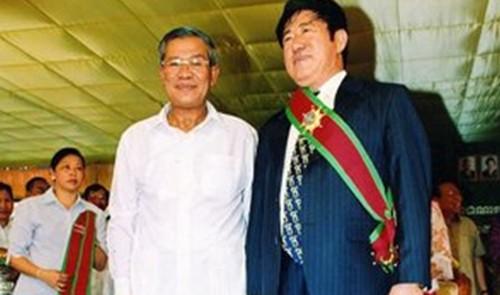 Đội cảnh vệ trang bị xe tăng, trực thăng của Thủ tướng Hun Sen - ảnh 1