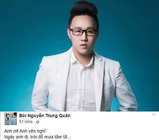 Showbiz Việt não nùng ngày mưa tiễn biệt Minh Thuận - ảnh 1
