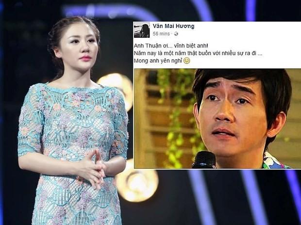 Showbiz Việt não nùng ngày mưa tiễn biệt Minh Thuận - ảnh 2