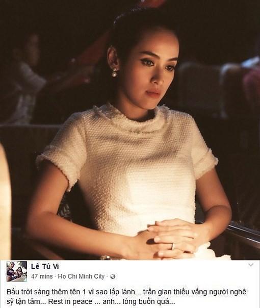 Showbiz Việt não nùng ngày mưa tiễn biệt Minh Thuận - ảnh 8