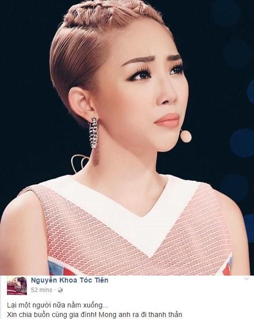 Showbiz Việt não nùng ngày mưa tiễn biệt Minh Thuận - ảnh 9
