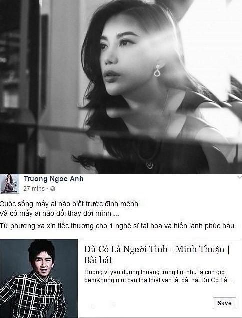 Showbiz Việt não nùng ngày mưa tiễn biệt Minh Thuận - ảnh 5