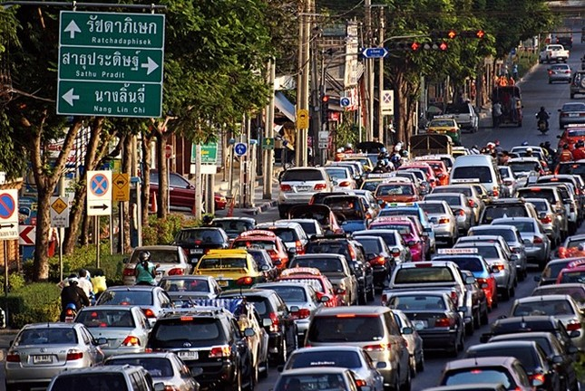 Kẹt xe khiến Bangkok thiệt hại 320 triệu USD mỗi năm - ảnh 2