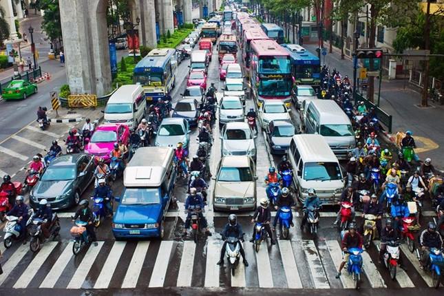 Kẹt xe khiến Bangkok thiệt hại 320 triệu USD mỗi năm - ảnh 6