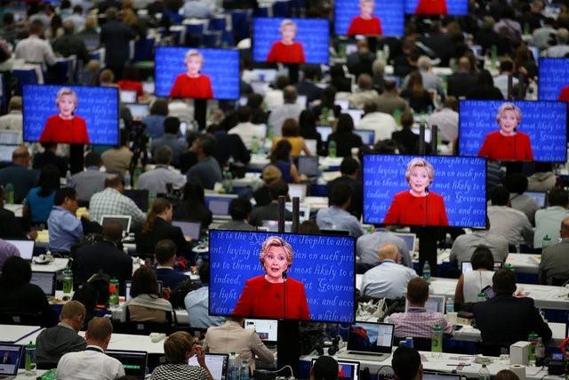 100 triệu lượt người xem Trump đấu khẩu với Clinton - ảnh 4