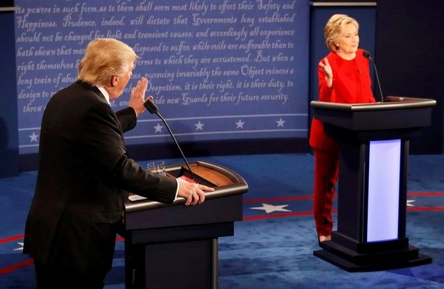 100 triệu lượt người xem Trump đấu khẩu với Clinton - ảnh 10