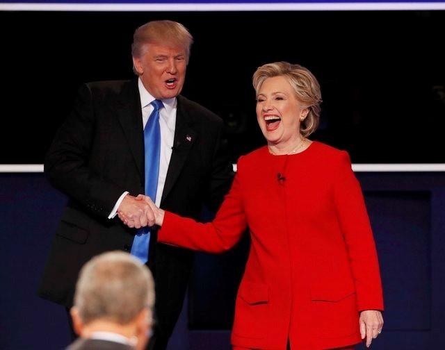 100 triệu lượt người xem Trump đấu khẩu với Clinton - ảnh 13