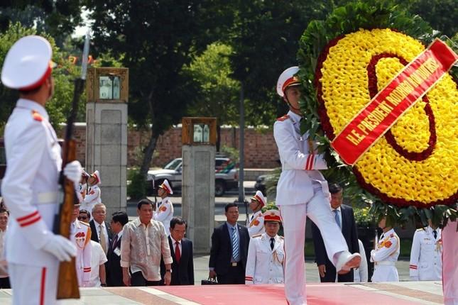 Chuyến thăm Việt Nam đầu tiên của Tổng thống Philippines - ảnh 5