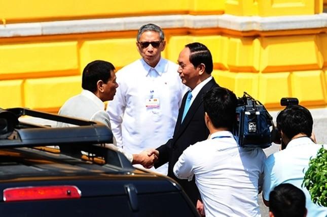 Chuyến thăm Việt Nam đầu tiên của Tổng thống Philippines - ảnh 7