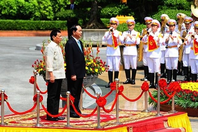 Chuyến thăm Việt Nam đầu tiên của Tổng thống Philippines - ảnh 8