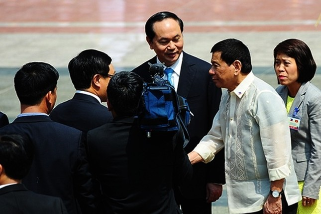 Chuyến thăm Việt Nam đầu tiên của Tổng thống Philippines - ảnh 10