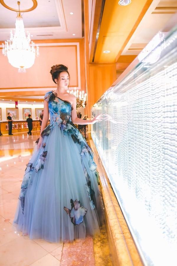 Hoa hậu Mỹ Linh hóa thân thành Lọ Lem - ảnh 5