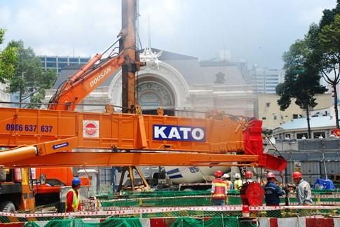 Cận cảnh Metro đầu tiên dưới lòng đất... Sài Gòn - ảnh 26