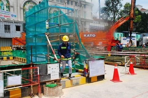 Cận cảnh Metro đầu tiên dưới lòng đất... Sài Gòn - ảnh 22