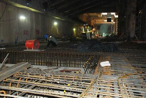 Cận cảnh Metro đầu tiên dưới lòng đất... Sài Gòn - ảnh 10
