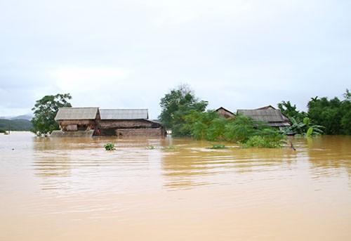 Chủ tịch huyện 'truy' thủy điện xả lũ khiến nghìn nhà dân bị ngập - ảnh 1