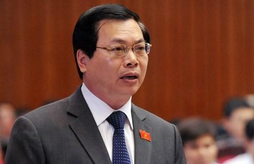 Nguyên Bộ trưởng Vũ Huy Hoàng bị đề nghị cảnh cáo - ảnh 1