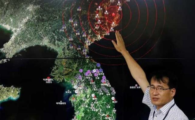 Vụ thử hạt nhân Triều Tiên 'mạnh hơn nổ bom Hiroshima' - ảnh 1