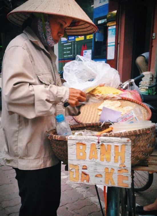 Bánh đa kê - món quà vặt dân dã của người Hà Nội - ảnh 1