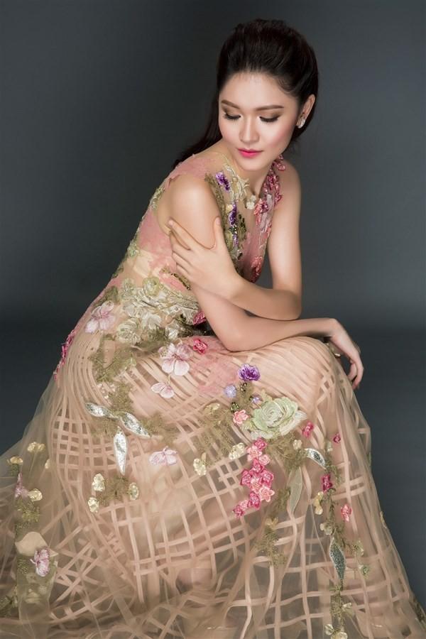 Nhan sắc kiêu kỳ của Top 3 Hoa hậu Việt Nam - ảnh 12