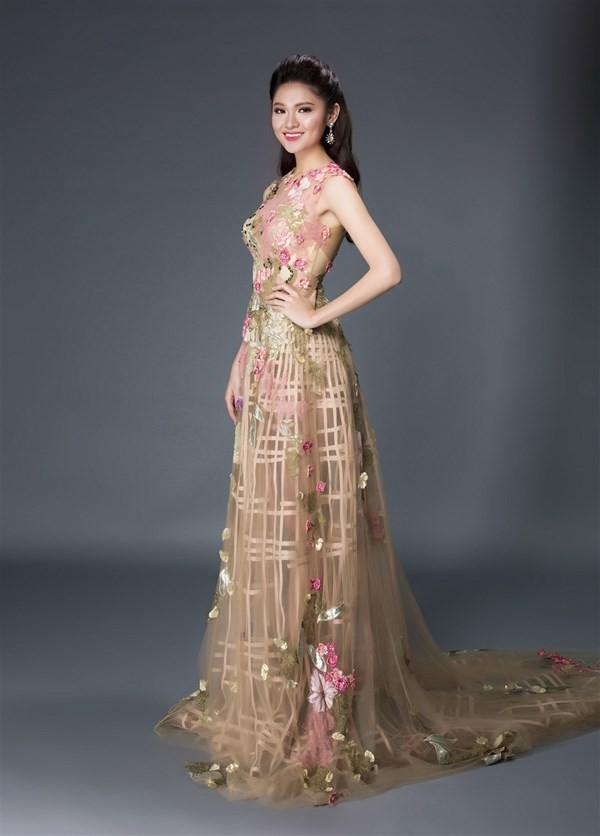 Nhan sắc kiêu kỳ của Top 3 Hoa hậu Việt Nam - ảnh 13