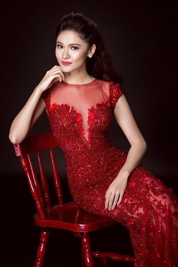 Nhan sắc kiêu kỳ của Top 3 Hoa hậu Việt Nam - ảnh 15