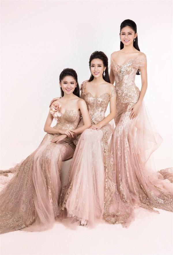 Nhan sắc kiêu kỳ của Top 3 Hoa hậu Việt Nam - ảnh 1