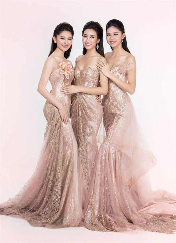 Nhan sắc kiêu kỳ của Top 3 Hoa hậu Việt Nam - ảnh 2