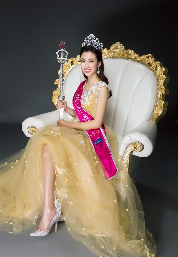 Nhan sắc kiêu kỳ của Top 3 Hoa hậu Việt Nam - ảnh 3