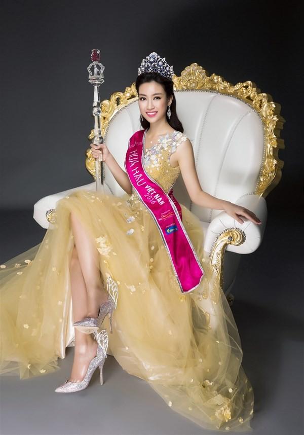 Nhan sắc kiêu kỳ của Top 3 Hoa hậu Việt Nam - ảnh 4