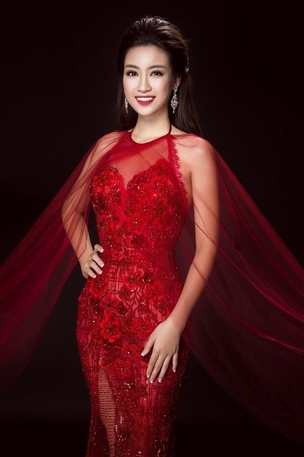 Nhan sắc kiêu kỳ của Top 3 Hoa hậu Việt Nam - ảnh 7