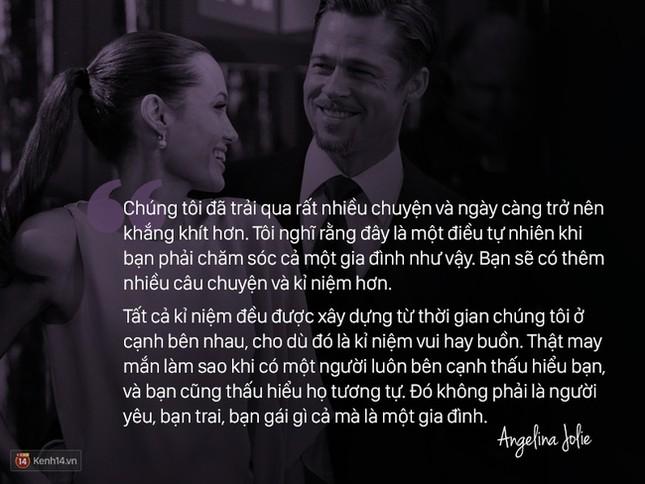 """12 năm qua, Angelina đã nói: """"Anh ấy không chỉ là tình yêu, mà là mái ấm"""" - ảnh 10"""