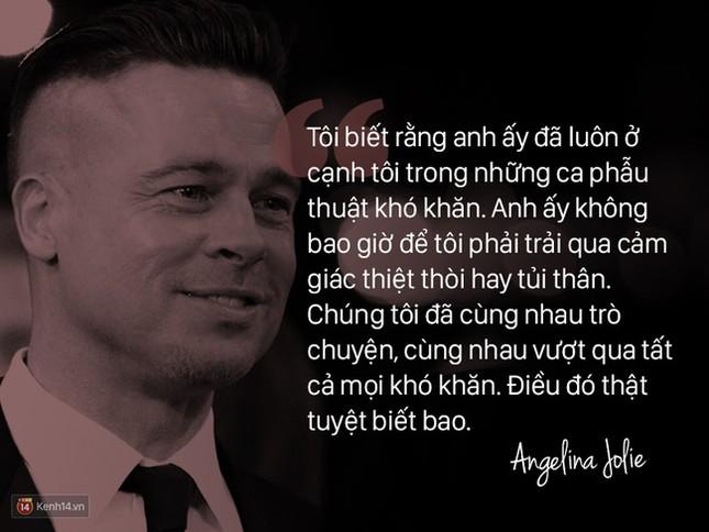 """12 năm qua, Angelina đã nói: """"Anh ấy không chỉ là tình yêu, mà là mái ấm"""" - ảnh 3"""