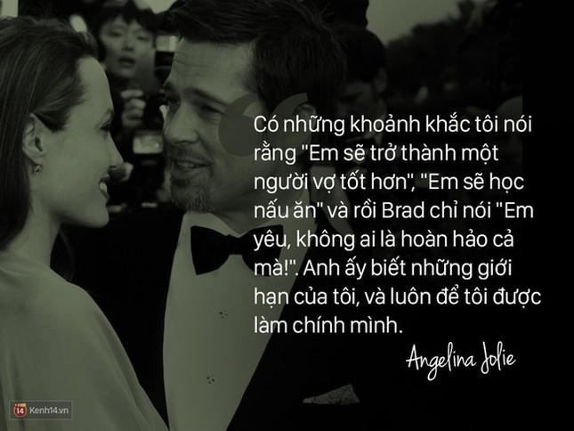 """12 năm qua, Angelina đã nói: """"Anh ấy không chỉ là tình yêu, mà là mái ấm"""" - ảnh 5"""