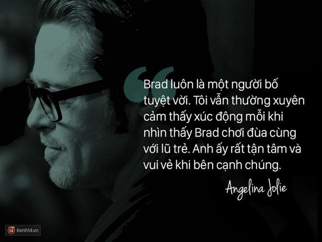 """12 năm qua, Angelina đã nói: """"Anh ấy không chỉ là tình yêu, mà là mái ấm"""" - ảnh 6"""