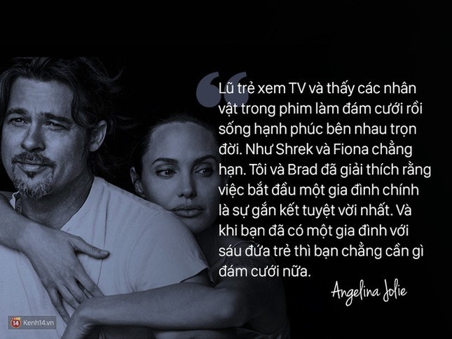 """12 năm qua, Angelina đã nói: """"Anh ấy không chỉ là tình yêu, mà là mái ấm"""" - ảnh 7"""