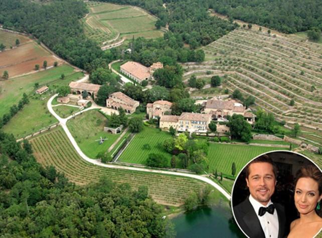 Angelina Jolie và Brad Pitt đang sở hữu những tài sản gì - ảnh 1