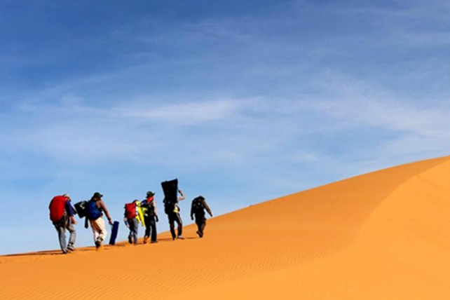 Trekking qua những đồi cát tuyệt đẹp ở Bình Thuận - ảnh 4
