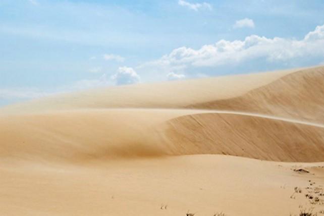 Trekking qua những đồi cát tuyệt đẹp ở Bình Thuận - ảnh 5