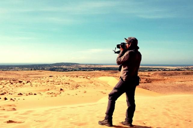 Trekking qua những đồi cát tuyệt đẹp ở Bình Thuận - ảnh 7