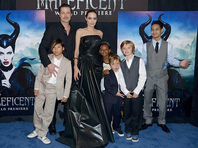 Brad Pitt bị Angelina Jolie chặn điện thoại, không được gặp con - ảnh 1