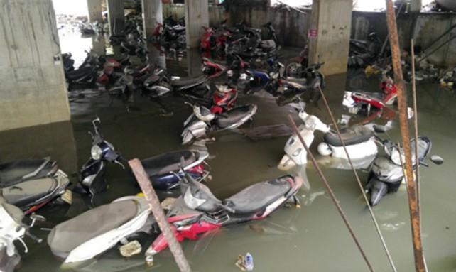 Mùi hôi, nước ngập 'bao vây' bất động sản Sài Gòn - ảnh 1