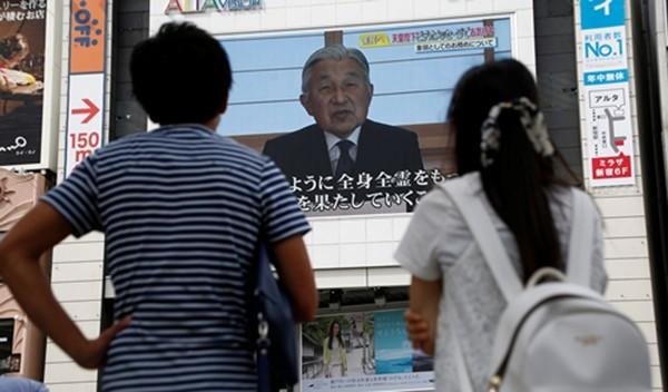 Nhật xem xét nguyện vọng thoái vị của Nhật hoàng - ảnh 1