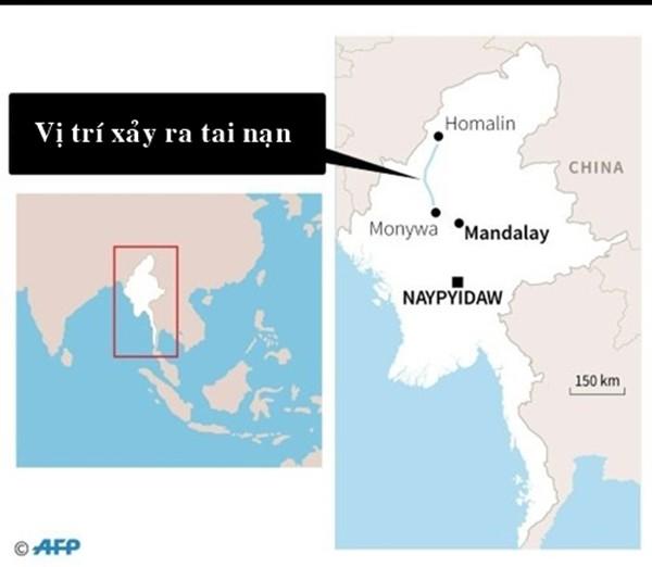 Phà Myanmar chìm, 32 người chết, nhiều người mất tích - ảnh 1